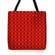 Color Dots On Red Drawing Abstract #7 Tote Bag
