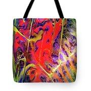 Color Explosion Tote Bag