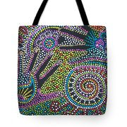 Color Fantasy Tote Bag