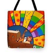 Color Flood Tote Bag