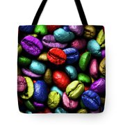 Color Full Coffe Beans Tote Bag