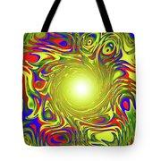 Color Funnel Tote Bag