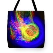 Color Funnels Photo Painting Tote Bag