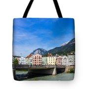 Color In Innsbruck Tote Bag