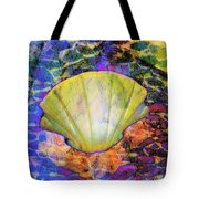 Color In Shell Tote Bag