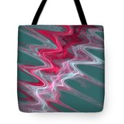Color In Waves Tote Bag