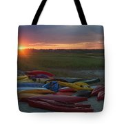 Color In Wells Tote Bag