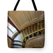 Color Interior Stairs  Tote Bag