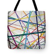 Color Lines Variety Tote Bag