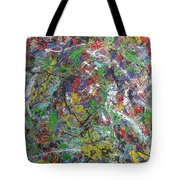 Color Map From The Sky And Ice Figure  Tote Bag
