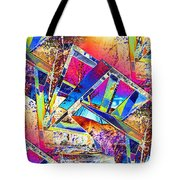 Color Me Abstract Tote Bag