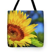 Color Me Happy Sunflower Tote Bag