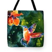 Color Me Humming Tote Bag