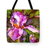 Color Me Iris Tote Bag