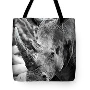 Color Me Rhino Tote Bag