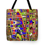 Color Mix Fun Abstract Tote Bag