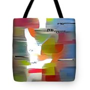 Color Model One Tote Bag