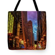 Color Of Night Tote Bag
