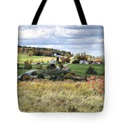 Color On The Hills Tote Bag