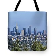 Color Pano Los Angeles California  Tote Bag