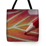 Color Pencil Drawing Tote Bag