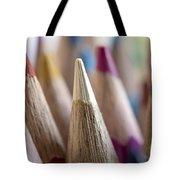 Color Pencils Close-up Tote Bag