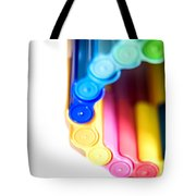Color Pens 8 Tote Bag