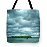 Color Play Before Storm Tote Bag