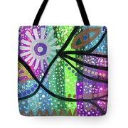 Color Rumble Tote Bag