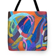 Color Rush Tote Bag