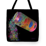 Color Spill Tote Bag