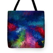 Color Splash Abstract 080210 Tote Bag