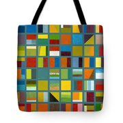 Color Study Collage 67 Tote Bag