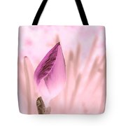 Color Trend Flower Bud Tote Bag