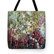 Color Twirl Tote Bag