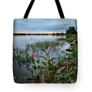 Color Wakes Up Tote Bag