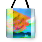 Color Wave Tote Bag