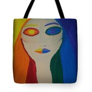 Color Wheel Opposites Tote Bag