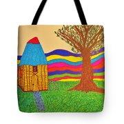 Colorful Fantasy Land Tote Bag