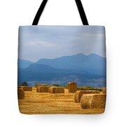 Colorado Agriculture Farming Panorama View Pt 2 Tote Bag