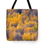 Colorado Autumn Trees Tote Bag
