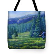 Colorado Backpacker Tote Bag