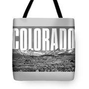 Colorado Cityscape Tote Bag