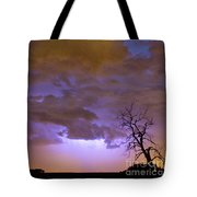 Colorado Cloud To Cloud Lightning Thunderstorm 27g Tote Bag
