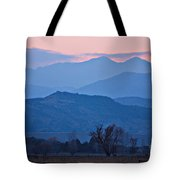 Colorado Country - Boulder County Tote Bag