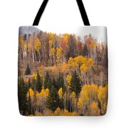 Colorado Fall Foliage Tote Bag