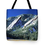 All Five Colorado Flatirons Tote Bag