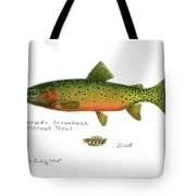 Colorado Greenback Cutthroat Trout Tote Bag