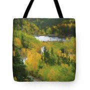 Colorado Lake And Colors Tote Bag