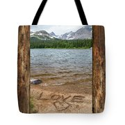 Colorado Love Window  Tote Bag